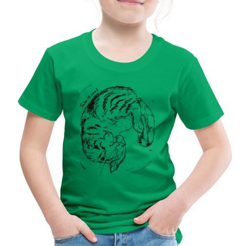 Take it cool BLACK - Kids' Premium T-Shirt