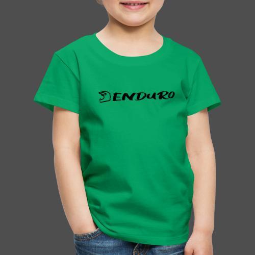 Enduro - Koszulka dziecięca Premium