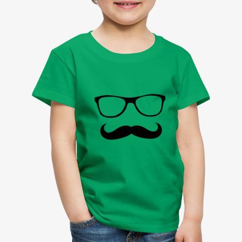 gafas y bigote - Camiseta premium niño