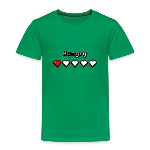 Hungry Heart Meter - Kids' Premium T-Shirt