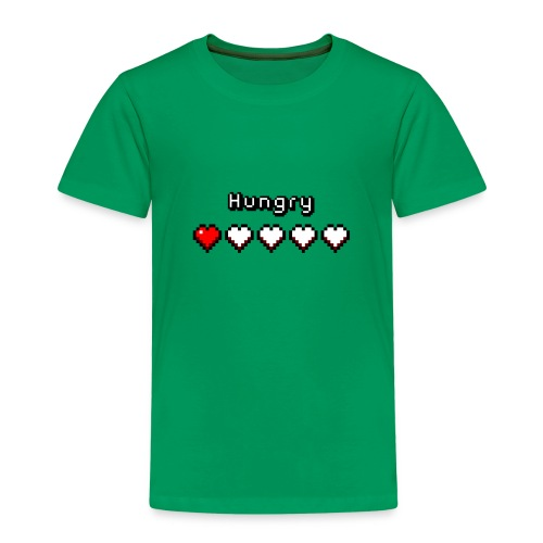 Hungry Heart Meter - Kids' Premium T-Shirt