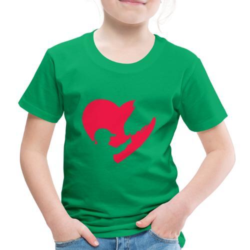 Horse Girl Cute Heart Horse Ride Gift for Horse - Camiseta premium niño