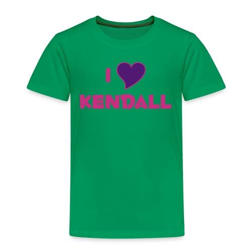 I Heart Kendell - Kids' Premium T-Shirt