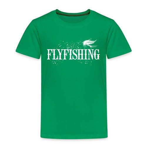 Flyfishing Fliegenfischen Köder Fliege - Kinder Premium T-Shirt