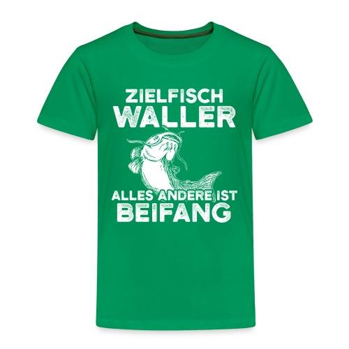 Zielfisch Waller alles andere ist Beifang - Kinder Premium T-Shirt