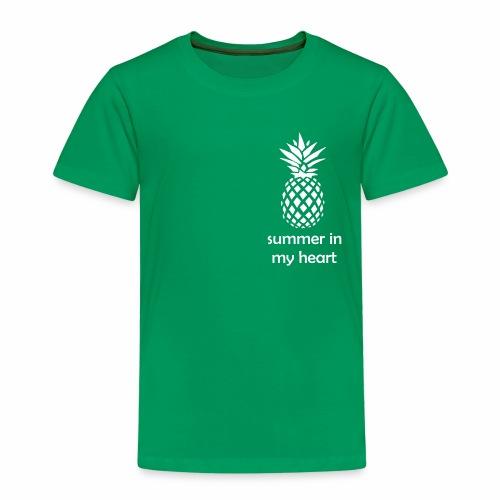 Summer in my heart - Koszulka dziecięca Premium