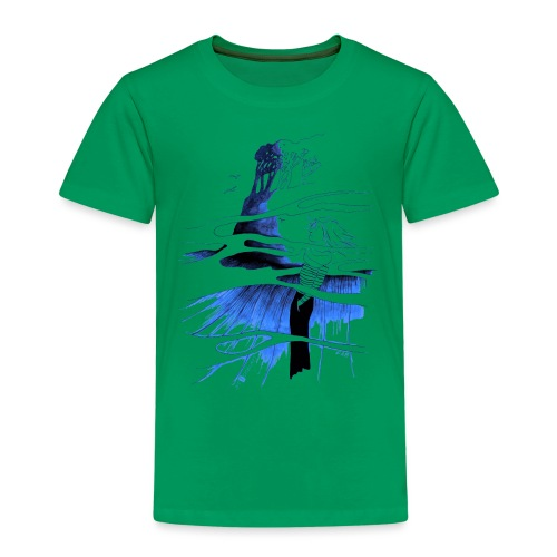 Ein Ort (blau) - Kinder Premium T-Shirt