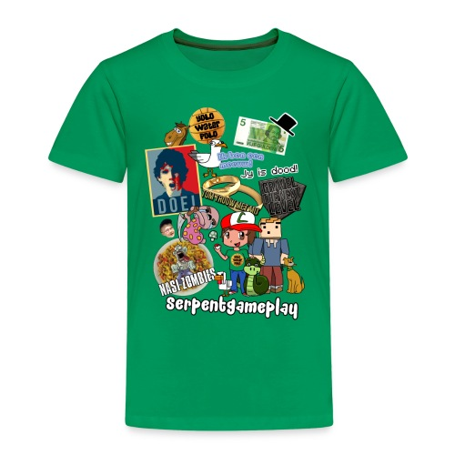 compilatie nieuw - Kinderen Premium T-shirt