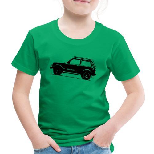 Lada Niva 2121 Russin 4x4 - Kinder Premium T-Shirt