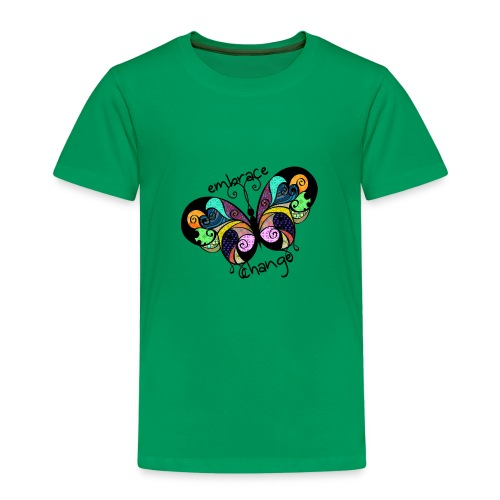 Embrace Change Butterfly - Kids' Premium T-Shirt