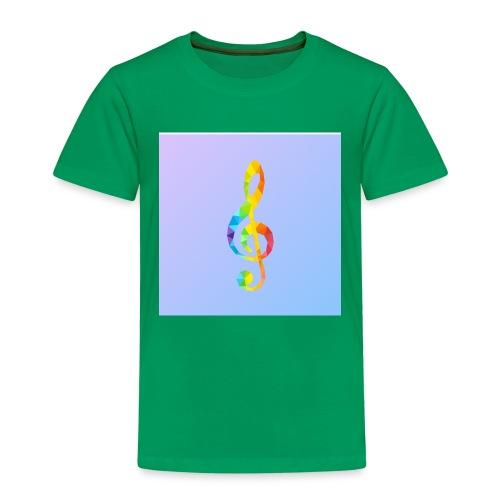 Der Notenschlüssel - Kinder Premium T-Shirt