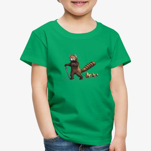 Red Panda with Ducks - Kids' Premium T-Shirt