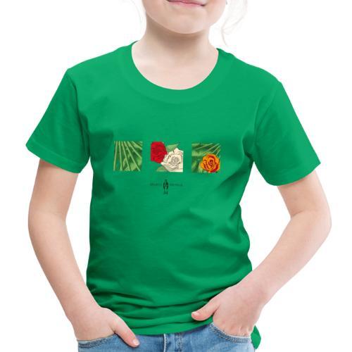 Urban Jungle | Flower Squares - Kinder Premium T-Shirt