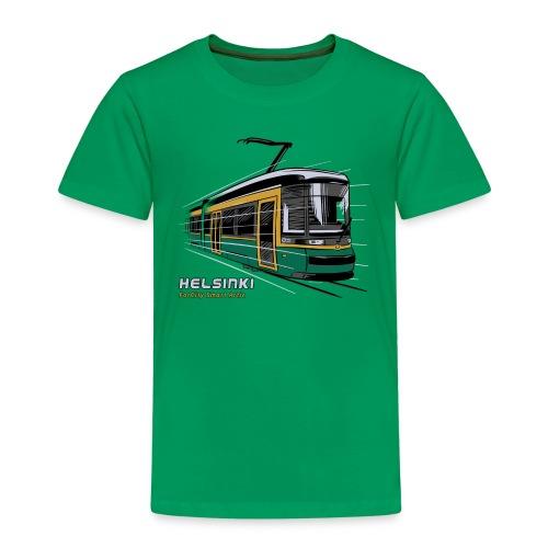 Helsingin Raitiovaunu T-paidat, 154 upeaa tuotetta - Lasten premium t-paita