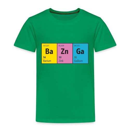 Periodensystem BaZnGa Nerd Geek Big Bang Urknall - Kids' Premium T-Shirt