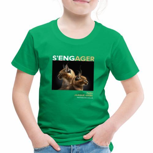 1 Achat = 1 Don à l'association Rainfer - T-shirt Premium Enfant