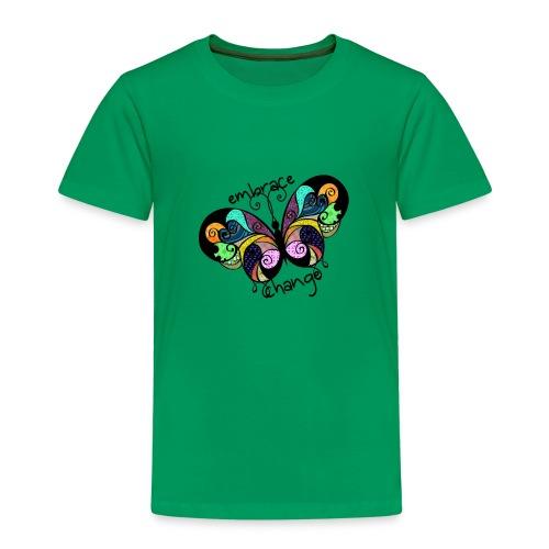 Embrace Change Butterfly - Kids' Premium T-Shirt