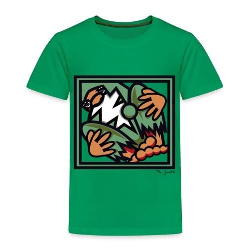 SANTA CLAUS GRÜN - Kinder Premium T-Shirt