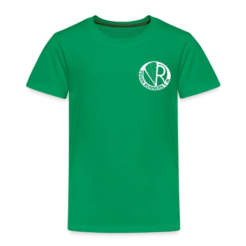 VeganRunners Logga gif - Premium-T-shirt barn