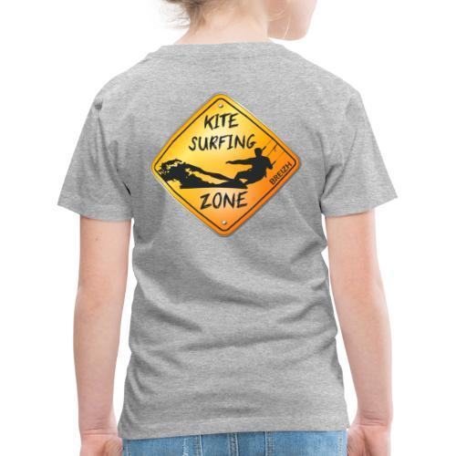 KITESURFING ZONE BREIZH - T-shirt Premium Enfant