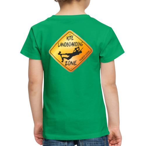 KITE LANDBOARDING ZONE OUEST CÔTE - T-shirt Premium Enfant
