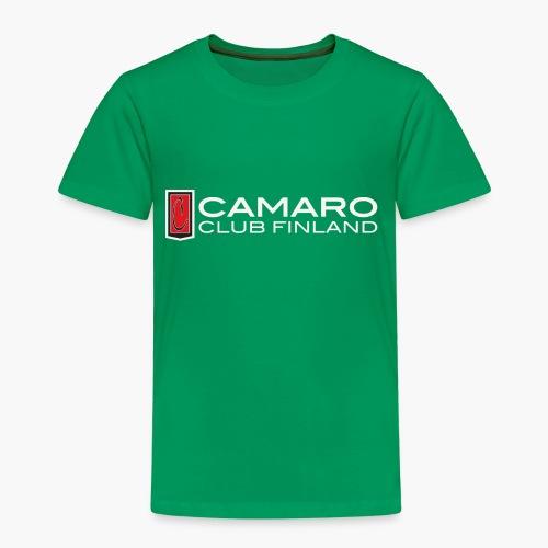 camaro club finland transparent - Lasten premium t-paita