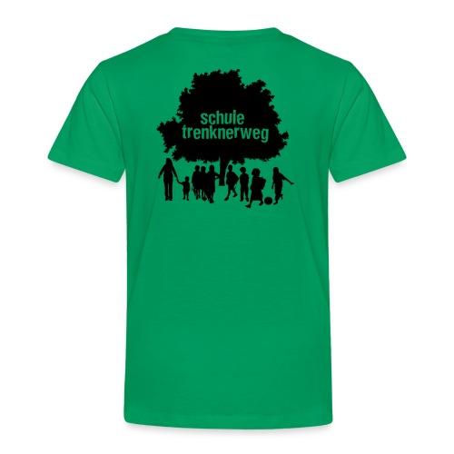 logo trenknerweg sw 2 - Kinder Premium T-Shirt