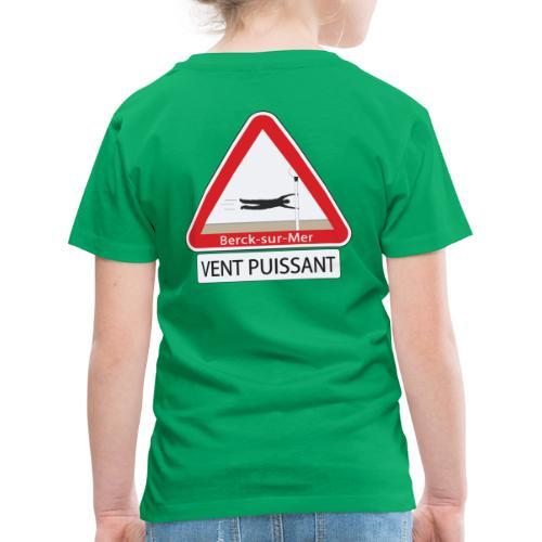 Berck-sur-mer: Vent puissant - T-shirt Premium Enfant