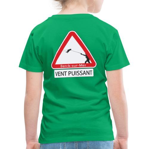 Berck-sur-mer: Vent puissant IV - T-shirt Premium Enfant