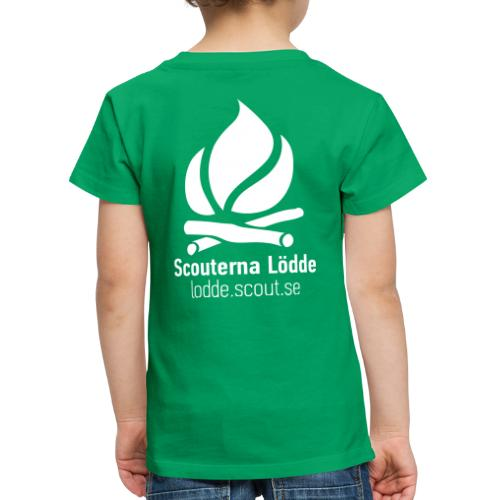 Lödde Tryck Logo (Blå) - Premium-T-shirt barn