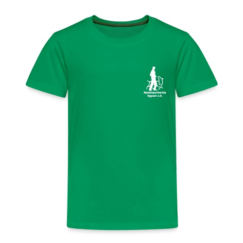Hund_weiss - Kinder Premium T-Shirt