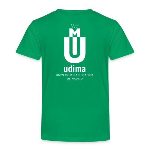 udi blanco vert png - Camiseta premium niño
