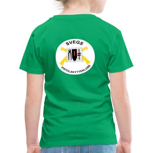 Svegs Pistolskytteklubb - Premium-T-shirt barn