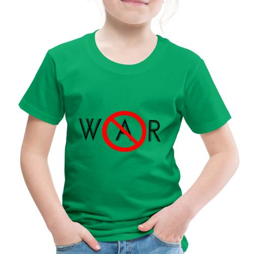 TIAN GREEN - No War - Kinder Premium T-Shirt