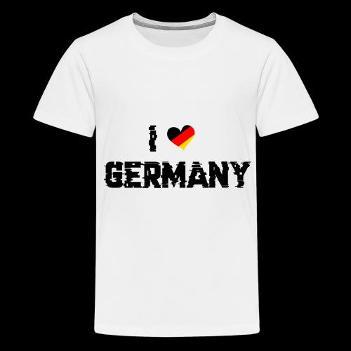 I Love Germany - Teenager Premium T-Shirt