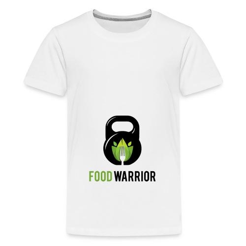 FoodWarrior Official Logo - T-shirt Premium Ado