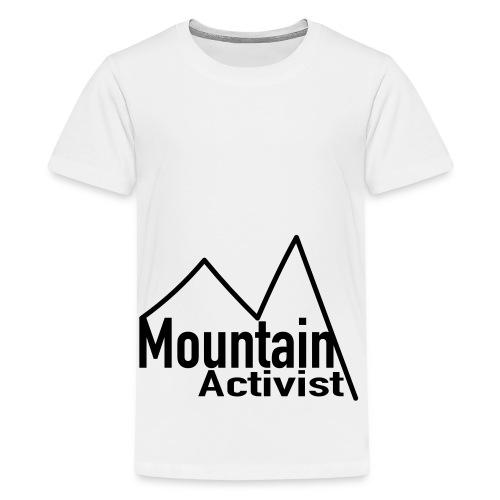 Mountain Activist - Teenager Premium T-Shirt