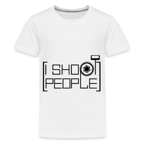Ich fotografiere gern Menschen Shirt - Teenager Premium T-Shirt
