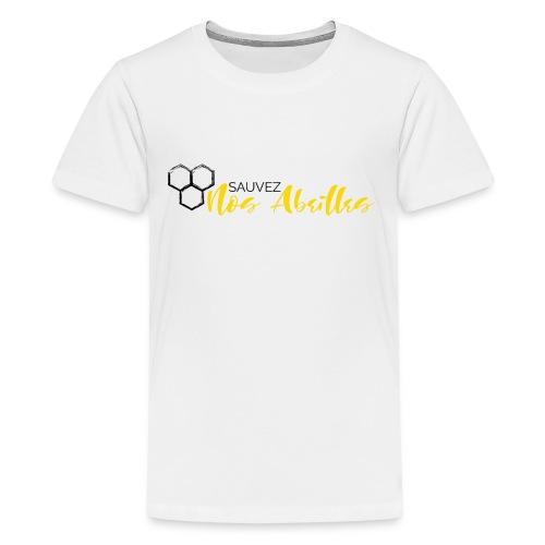 SAUVEZ NOS ABEILLES - T-shirt Premium Ado