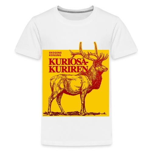 Stiliserad älg - Premium-T-shirt tonåring