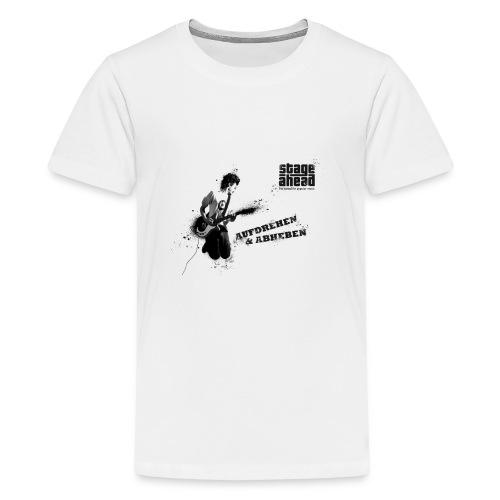 Aufdrehen und Abheben - Teenager Premium T-Shirt