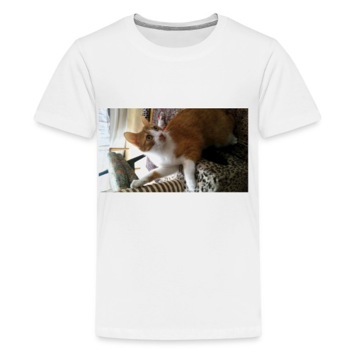 Speedy cat merch :) - Premium-T-shirt tonåring