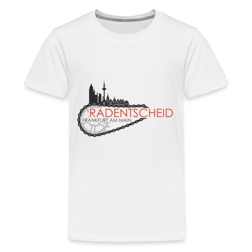 Radentscheid-Frankfurt - Teenager Premium T-Shirt