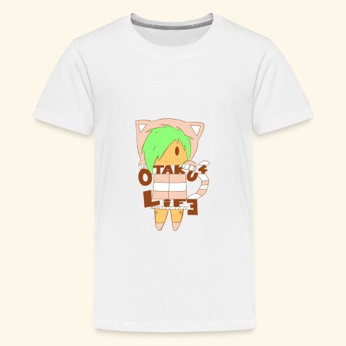 Chibi Otaku - Rosa [Mädchen Version] - Teenager Premium T-Shirt