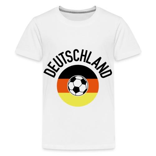 Deutschland01WM2018 - Teenager Premium T-Shirt
