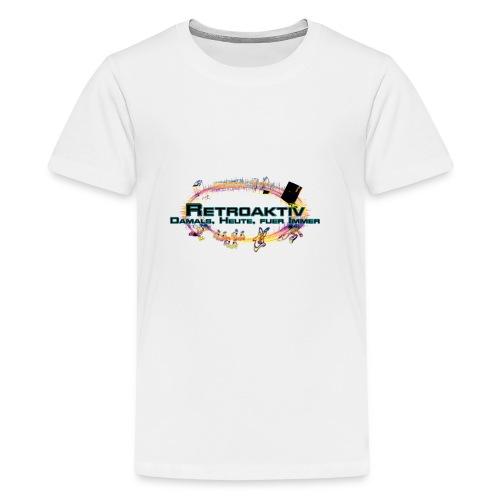 RetroAktiv Shop - Teenager Premium T-Shirt