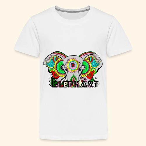 elephant - Teenager Premium T-Shirt