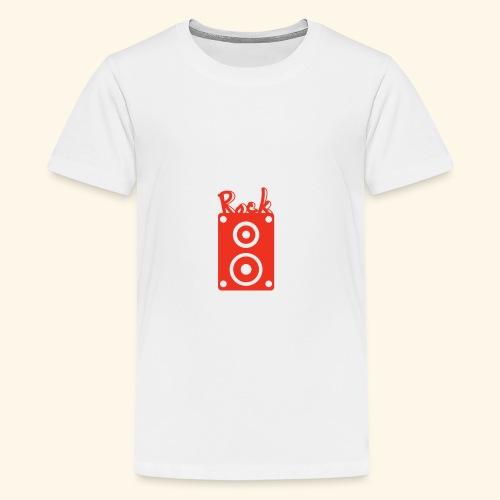 Rock Box - Teenager Premium T-Shirt