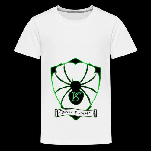 Spider army - Teenager Premium T-Shirt
