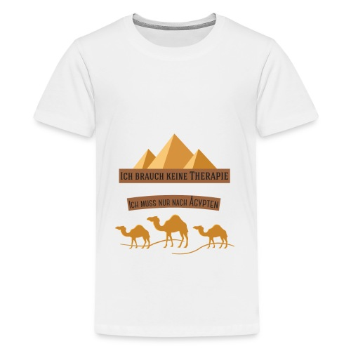 egypt Therapie - Teenager Premium T-Shirt